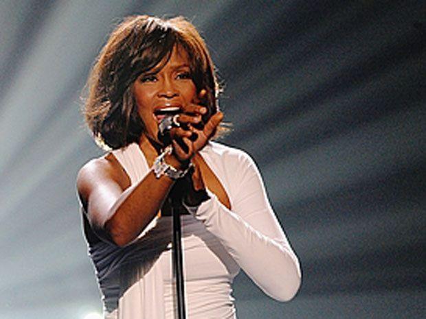 dainininkė Whitney Houston