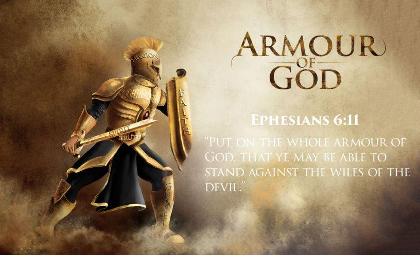 imkitės visų Dievo ginklų