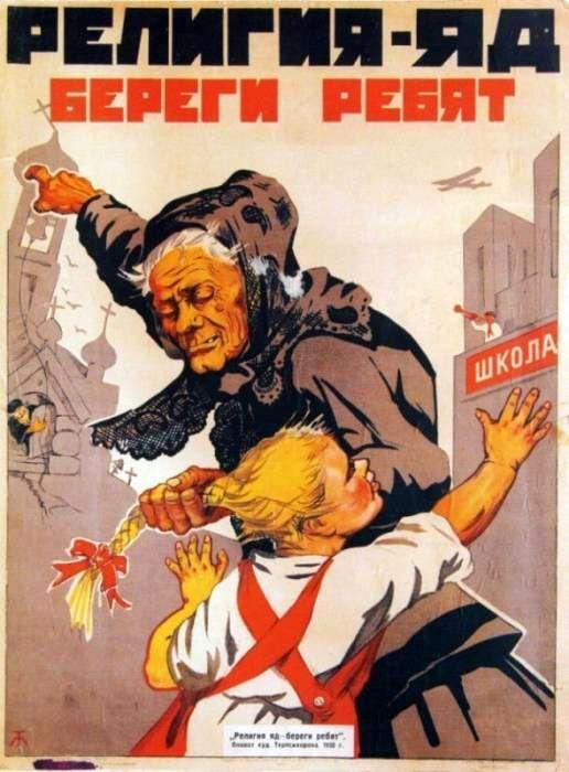 sovietinė antireliginė propaganda