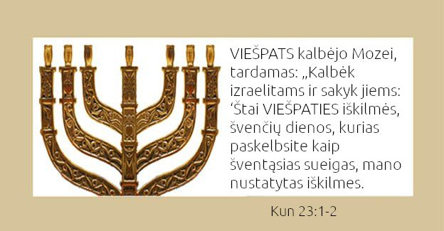 VIEŠPATIES šventės