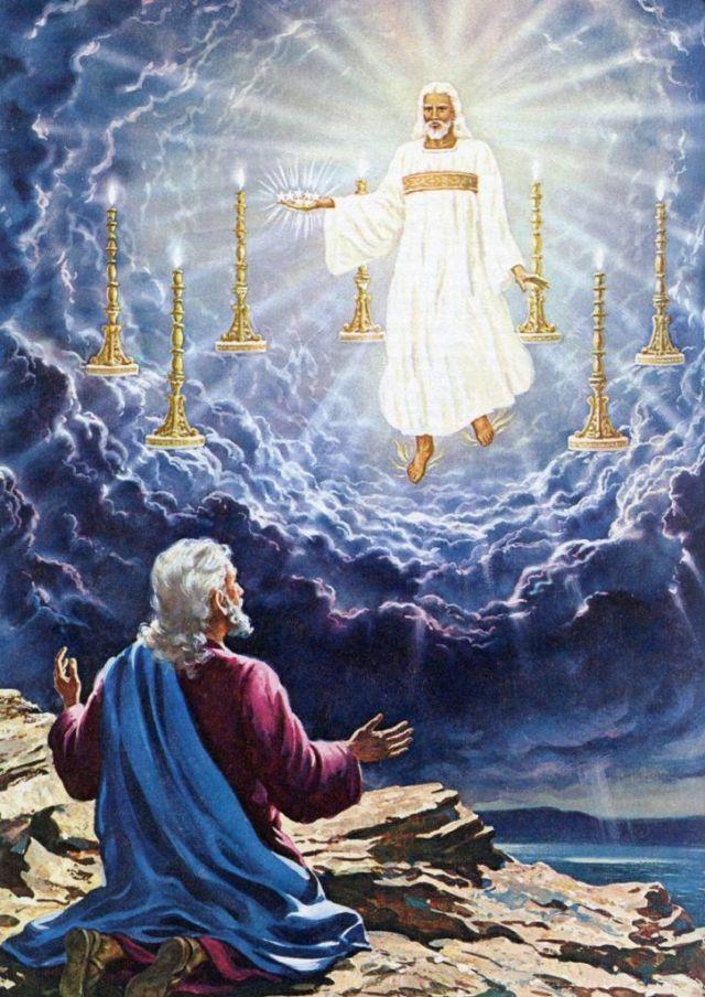 vyriausiasis kunigas Jėzus Kristus Apreiškimo knygoje
