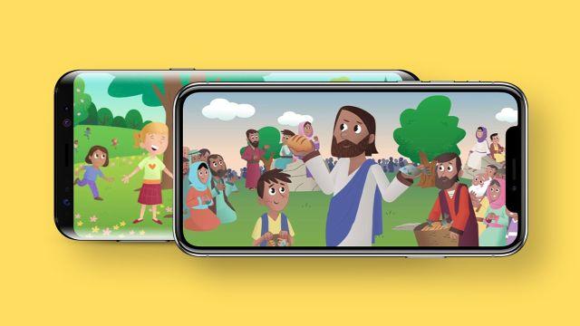 Biblijos programėlė vaikams