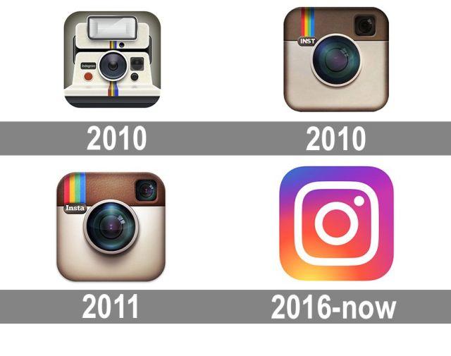 Instagram logotipai
