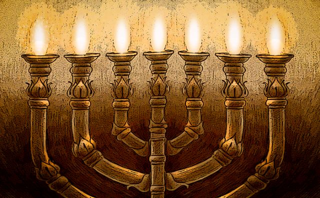 septynžvakė menora