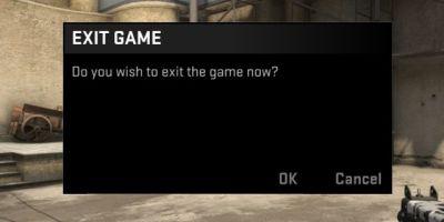 CS:GO exit