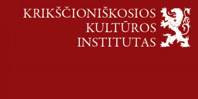 Krikščioniškosios kultūros institutas
