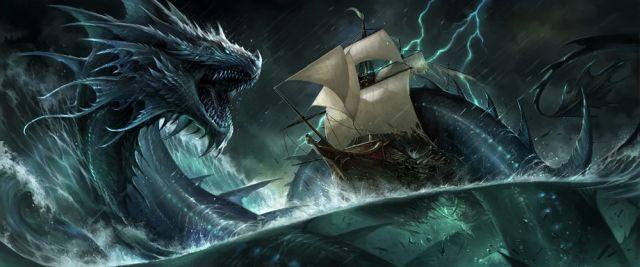 Leviatanas - jūrų pabaisa