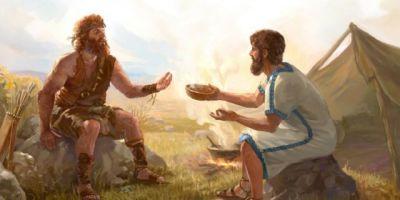 Ezavas ir Jokūbas